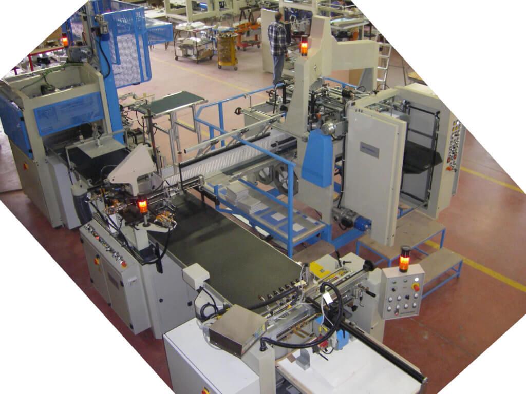 Presentazione linea EP170L per la realizzazione di scatole in cartone teso rivestite con carta