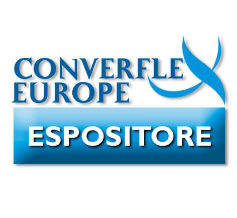 Logo per gli espositori alla Fiera Converflex Europe di Milano svoltasi nel 2006