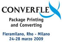 Logo della Fiera Converflex alla quale era presente Europrogetti nel 2009
