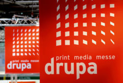 Logo utilizzato per la Fiera Drupa