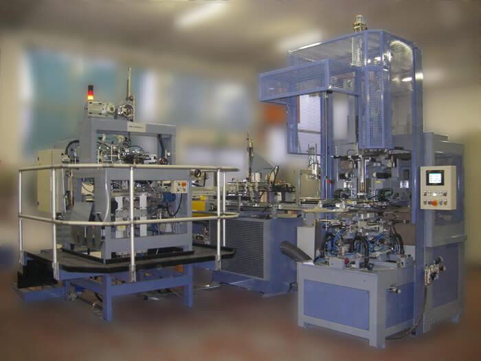 Presentazione della linea di fabbricazione per scatole rivestite EP150, realizzata nel 2011